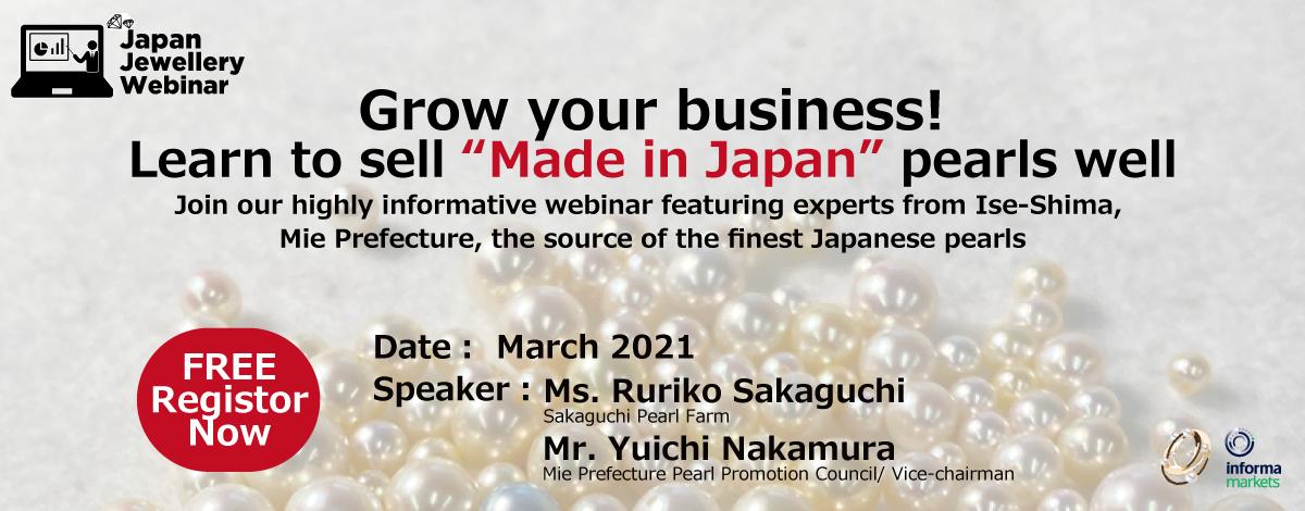 Japan Jewellery Webinar